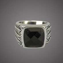 Ring - Black Gem