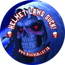 ***FREE*** Bikers Alley Sticker